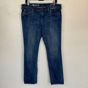 Madewell Rail Straight Jeans 32x34